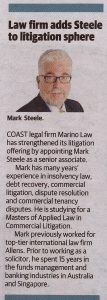 Marino Law Strengthens Litigation Offering